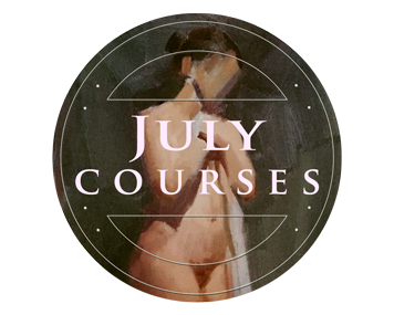 JULY COURSE @ London Fine Art Studios