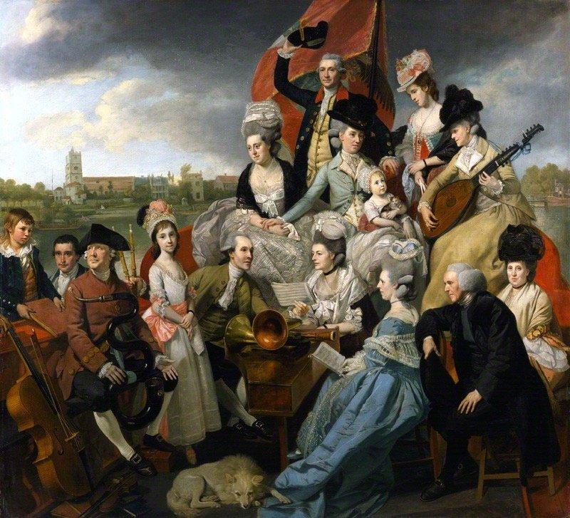 by Johan Joseph Zoffany, oil on canvas, 1779-1781