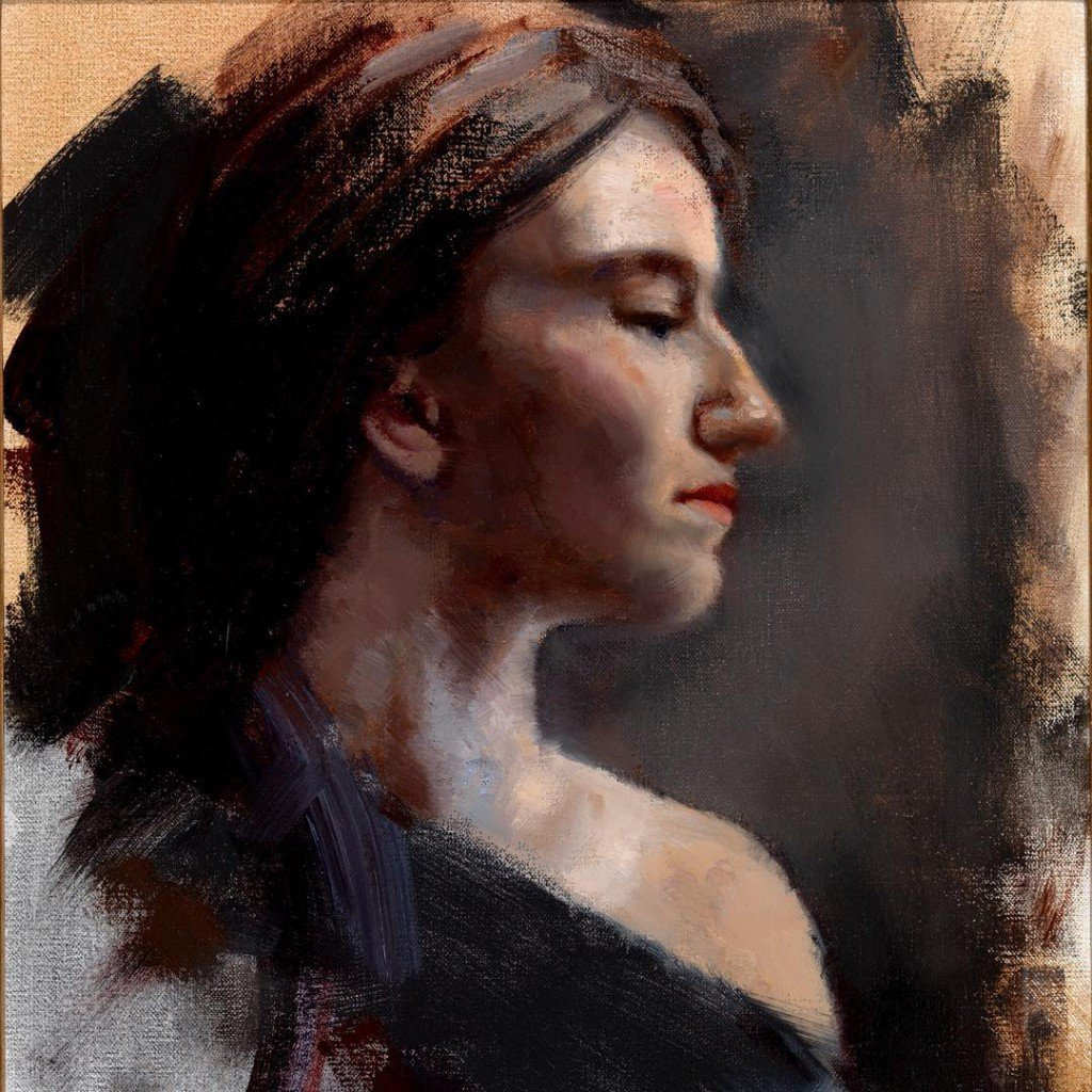 portrait alla prima oil painting course chiaroscuro