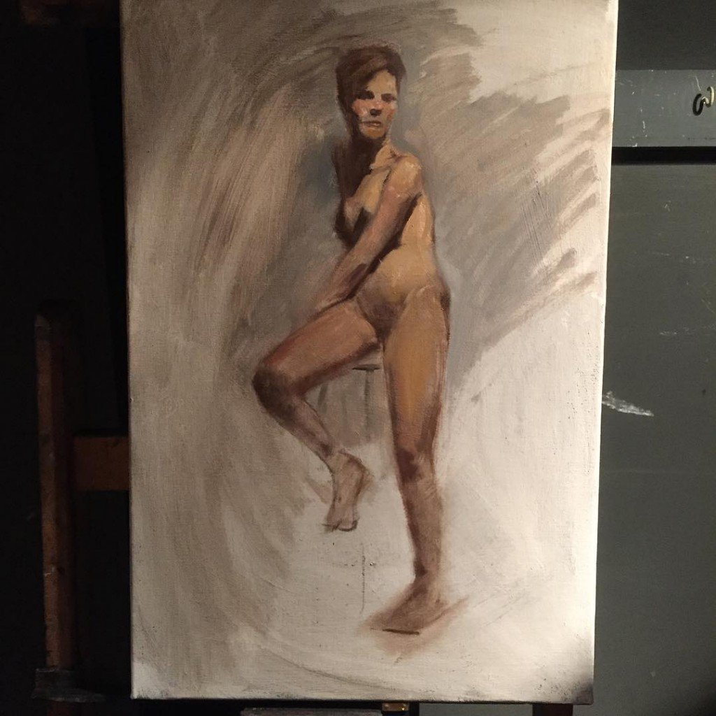 atelier oil painting figure courses comparative