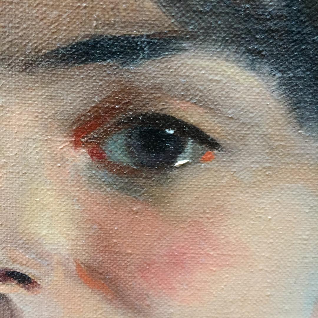 portrait painting study eye course
