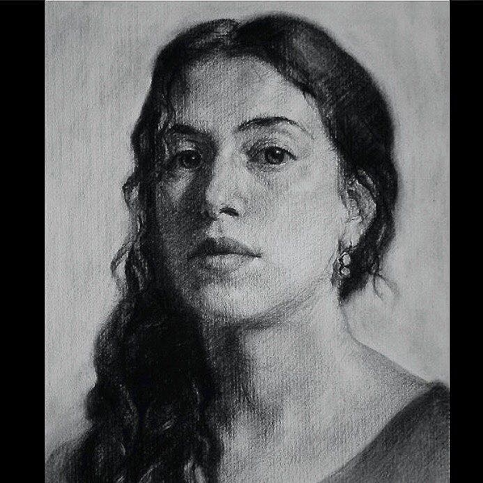 Charcoal Atelier Drawing Portrait Courses