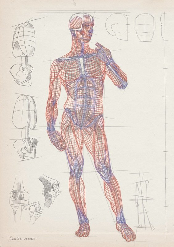 Gesture Anatomy London Fine Art Studios