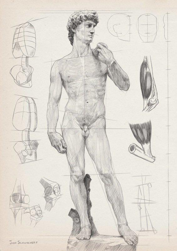 Gesture Anatomy London Fine Art Studios