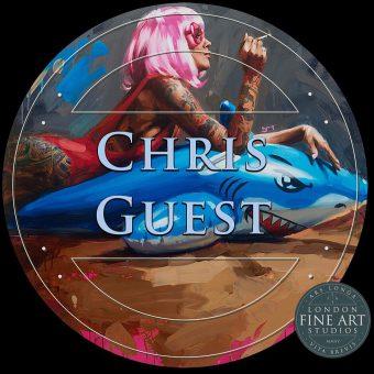 CHRIS GUEST | LONDON PAINTING WORKSHOP @ Studio 101 | England | United Kingdom