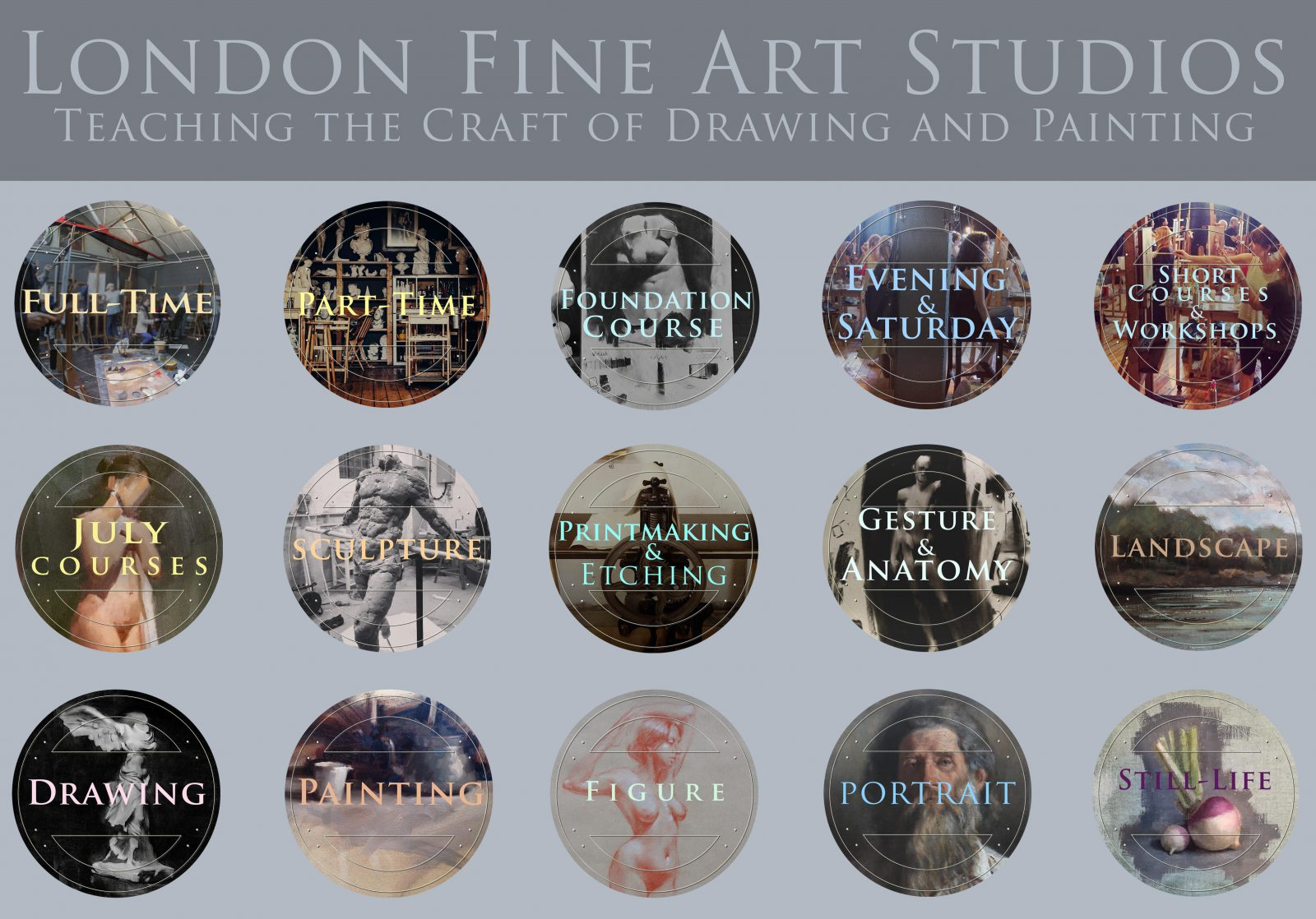 ATELIER ART COURSES IN LONDON