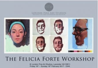 Felicia Forte Art Course at LONDON FINE ART STUDIOS