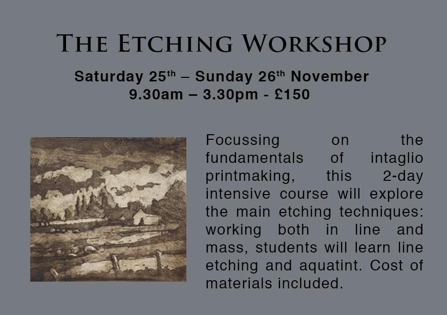 Etching Workshop | London Printmaking Courses
