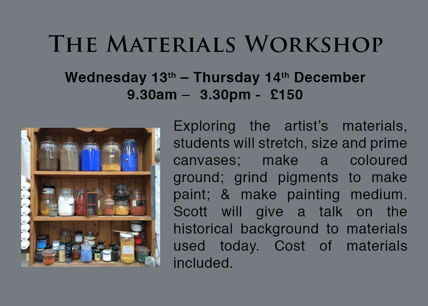 Artists Materials Workshops in London