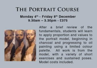 Portrait Painting and Drawing Courses in London