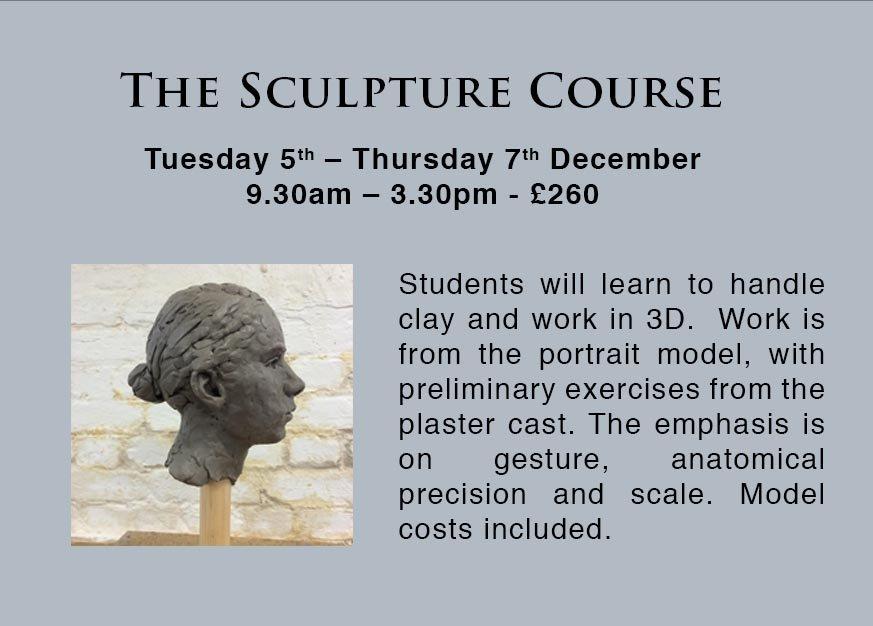 Portrait Sculpture Courses in London