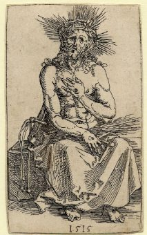 Etching Course London Fine Art Studios Albrecht Durer Man of Sorrows