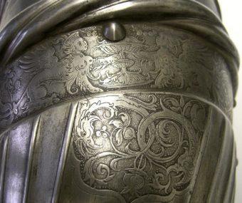 Etching Course London Fine Art Studios Daniel Hopfer Etched Armour 1515-1525