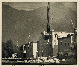 Etching Course London Fine Art Studios Ernest Lumsden Aquatint 1883-1948