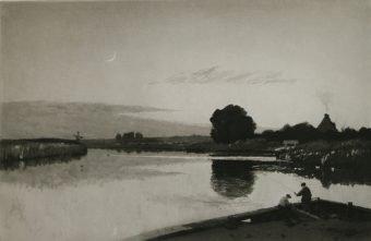 Etching Course London Fine Art Studios Frank Short 1857-1945 Aquatint