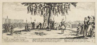 Etching Course London Fine Art Studios Jacque Callot Miseries of War 1633