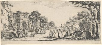 Etching Course London Fine Art Studios Jacque Callot Miseries of War 1633