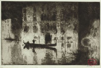 Etching Course London Fine Art Studios James McBey 1883-1959