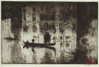 Etching Course London Fine Art Studios James McBey 1883-1959