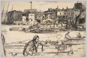 Etching Course London Fine Art Studios James McNeil Whistler 1834-1903