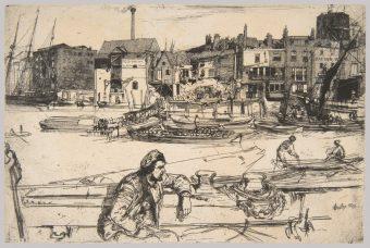 Etching Course London Fine Art Studios James McNeil Whistler 1834-1903