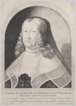 Etching Course London Fine Art Studios Mezzotint Portrait of Amelie Elizabeth 1642