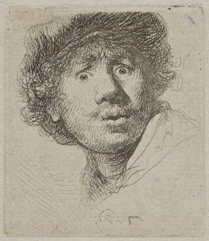 Etching Course London Fine Art Studios Rembrandt Self Portrait
