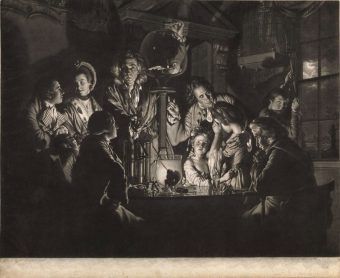 Etching Course London Fine Art Studios Valentine Green Reproduction Joseph Wright