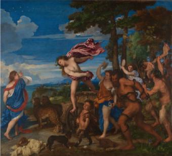 London Fine Art Studios, Bacchus & Ariadne, Titian 1520-1523