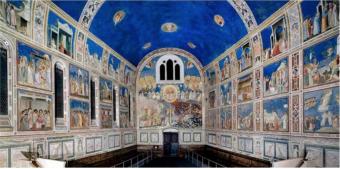 Scrovegni Chapel, Padua. Giotto 1302-1305