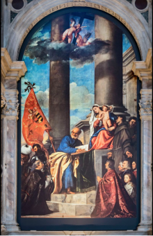 London Fine Art Studios, Titian, Pesaro Madonna, 1519-1526