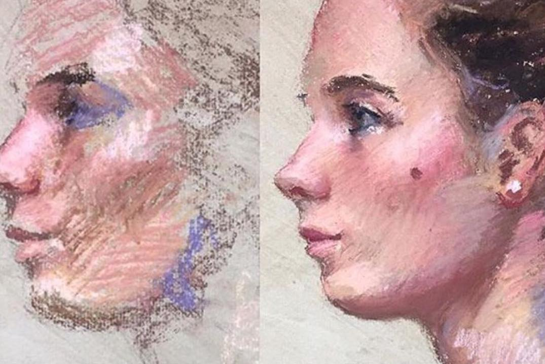 Pastel Portrait Workshop @ London Fine Art Studios | England | United Kingdom