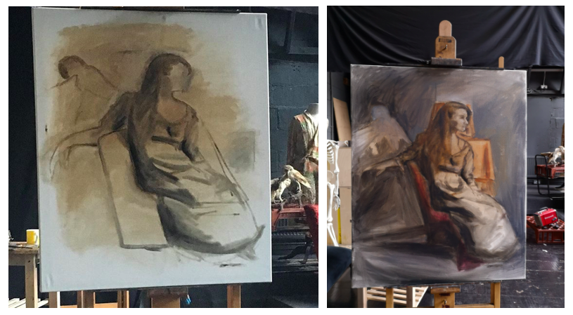 Figure Painting, Dante Orozco, de laszlo scholarship, de laszlo foundation, london fine art studios, art studio, art lessons, fine art, art workshop, london art, oil painting