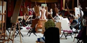 Life-Drawing and Painting in Leighton's studio (5/6) @ Leighton House Museum