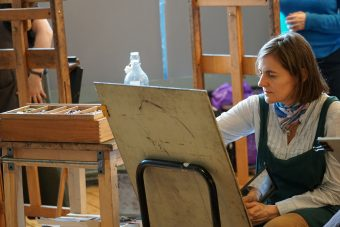 Ann's Pastel Portrait Workshop at National Army Museum @ National Army Museum