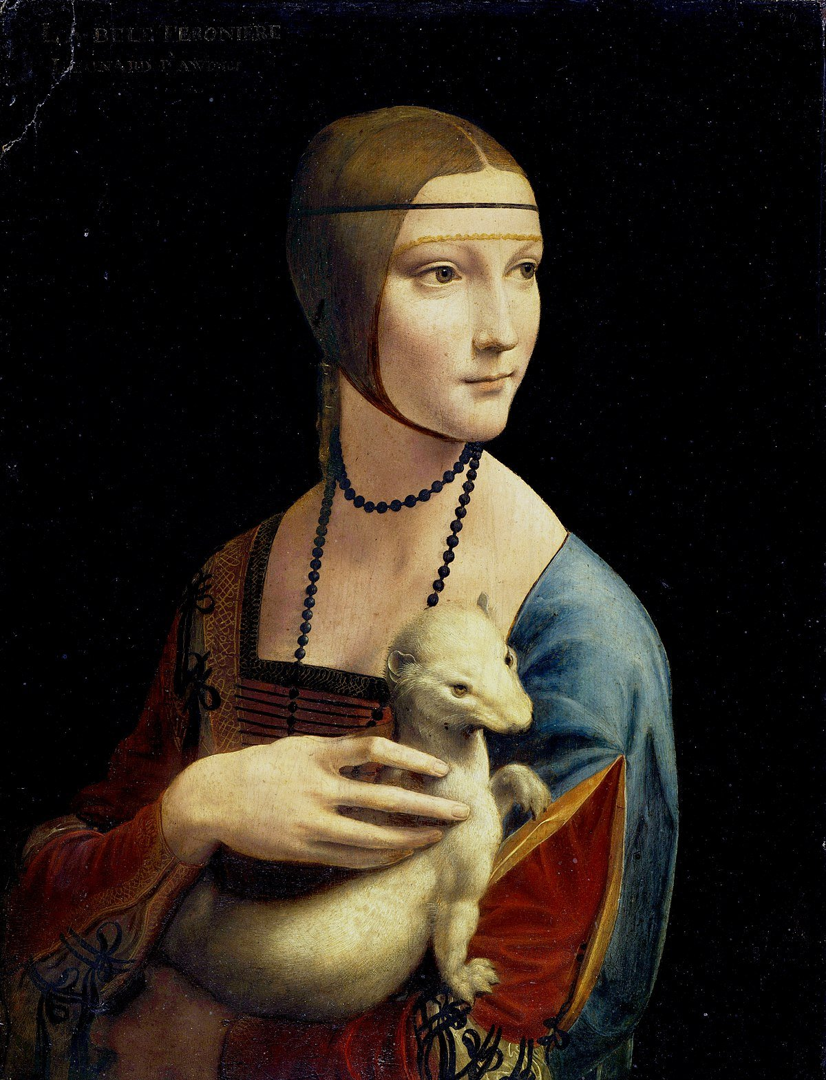 Leonardo da Vinci, The Lady with an Ermine, london fine art studios blog, art blog, art stories, art blog lonodn, art classes london, art workshops london