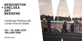 KENSINGTON + CHELSEA  ART WEEKEND @ Holland Park