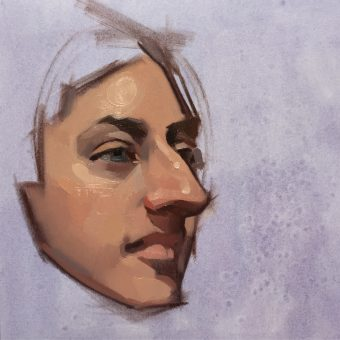 FELICIA FORTE PORTRAIT PAINTING WORKSHOP @ London Fine Art Studios
