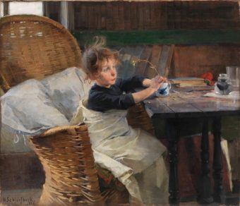 A Little Convalescent, Helene Schjerfbeck