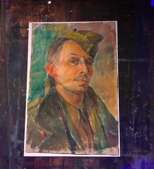 Self- Portrait, Abram Games, National army museum