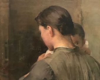 Woman with a Child, Helene Schjerfbeck