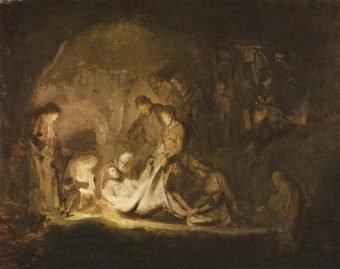 Entombment of Christ, Rembrandt