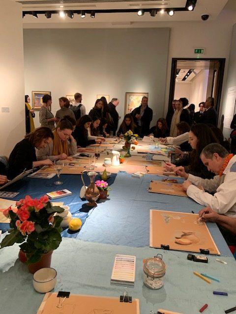 Christie's Lates & London Fine Art Studios