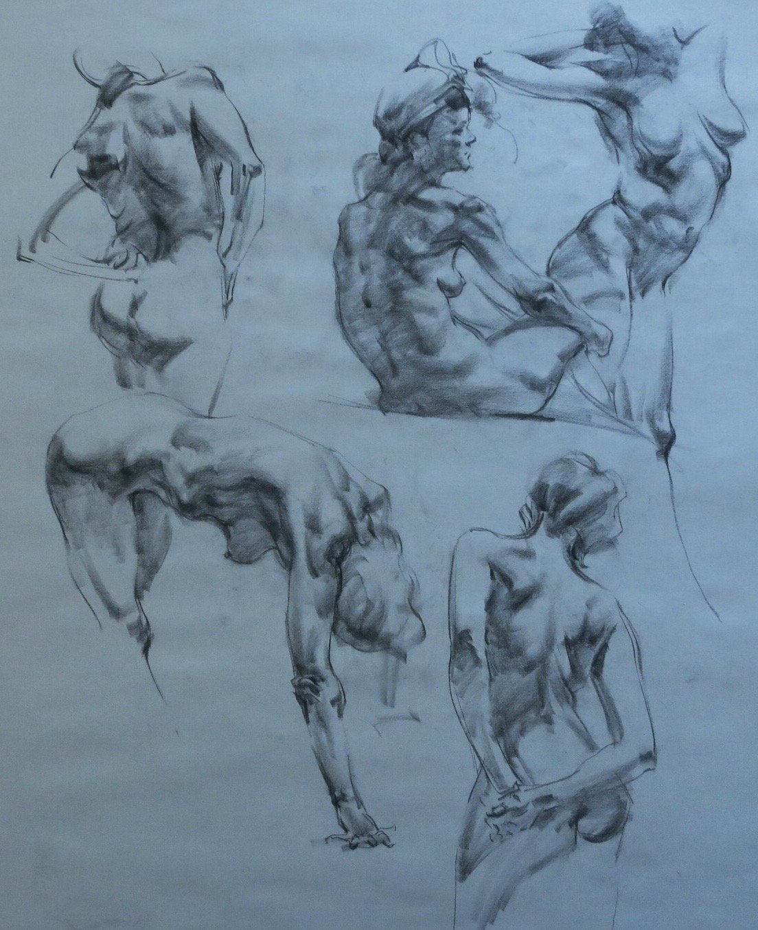 henry yan workshop figure charcoal