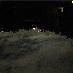 london fine art studios at night
