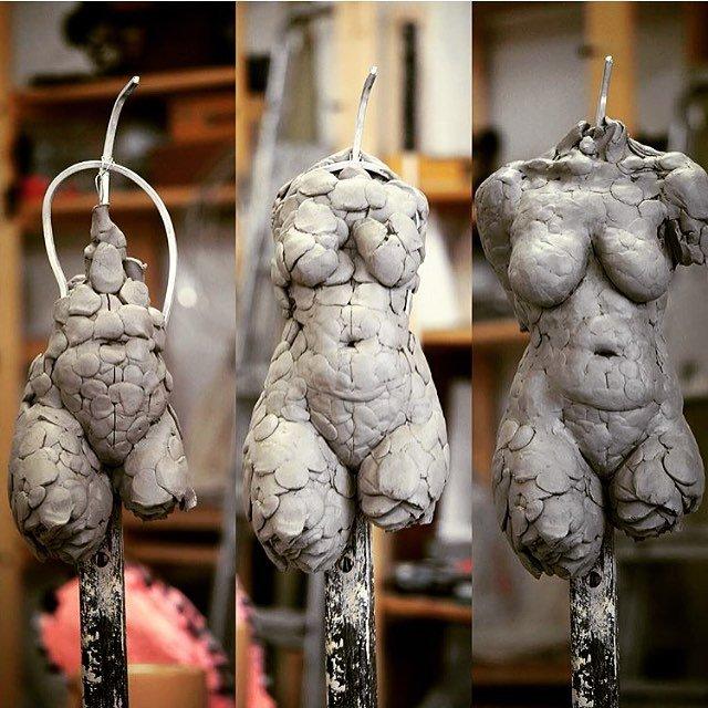 Sculpture week (July Course) @ London Fine Art Studios