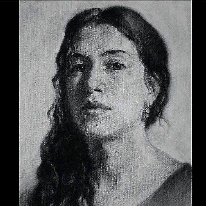 Charcoal Atelier Drawing Portrait Courses