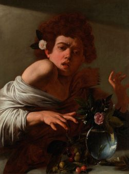 Caravaggio Boy with a Lizard