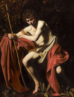 Caravaggio Saint John the Baptist