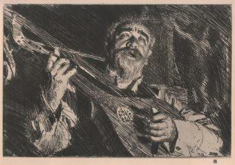 Etching Course London Fine Art Studios Anders Zorn 1860-1920